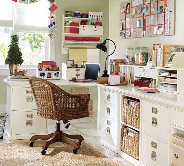 Creation Of Home Office Sewing Craft Room