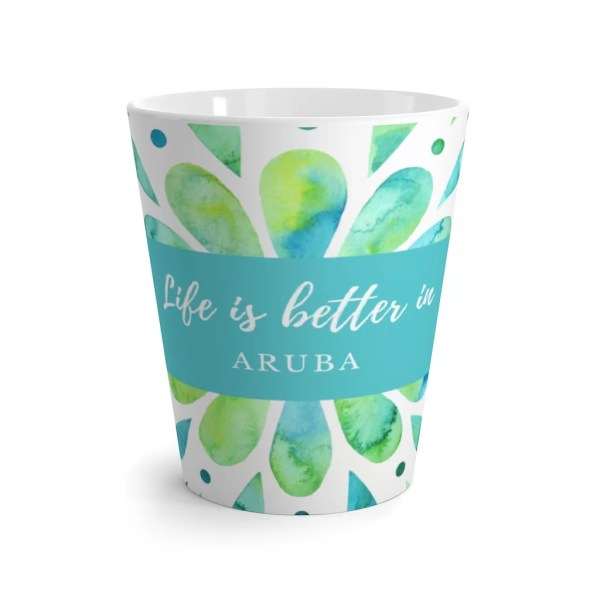 Aruba Latte mug
