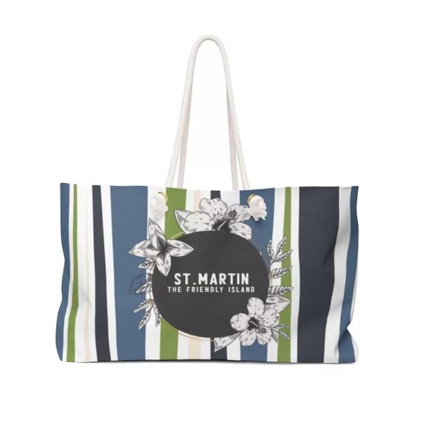 St. Martin Weekender Bag-Blue
