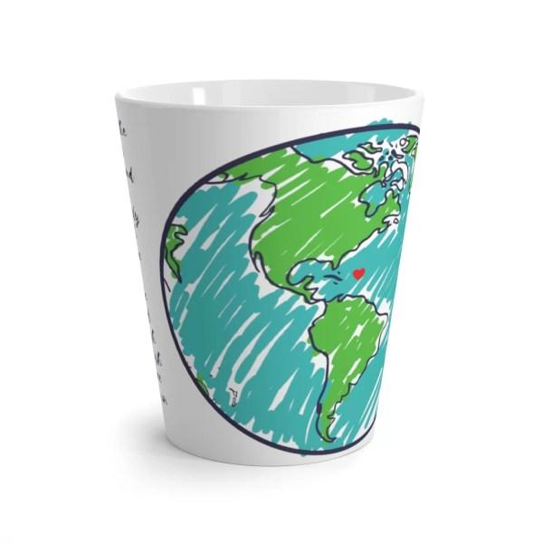 Land Latte Mug