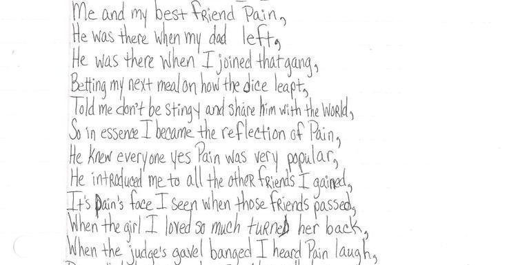 Between the Bars : Prison Poetry Workshop