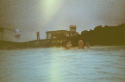 """""""Northern Lights"""" at the Blue Lagoon...oh pretend!!"""