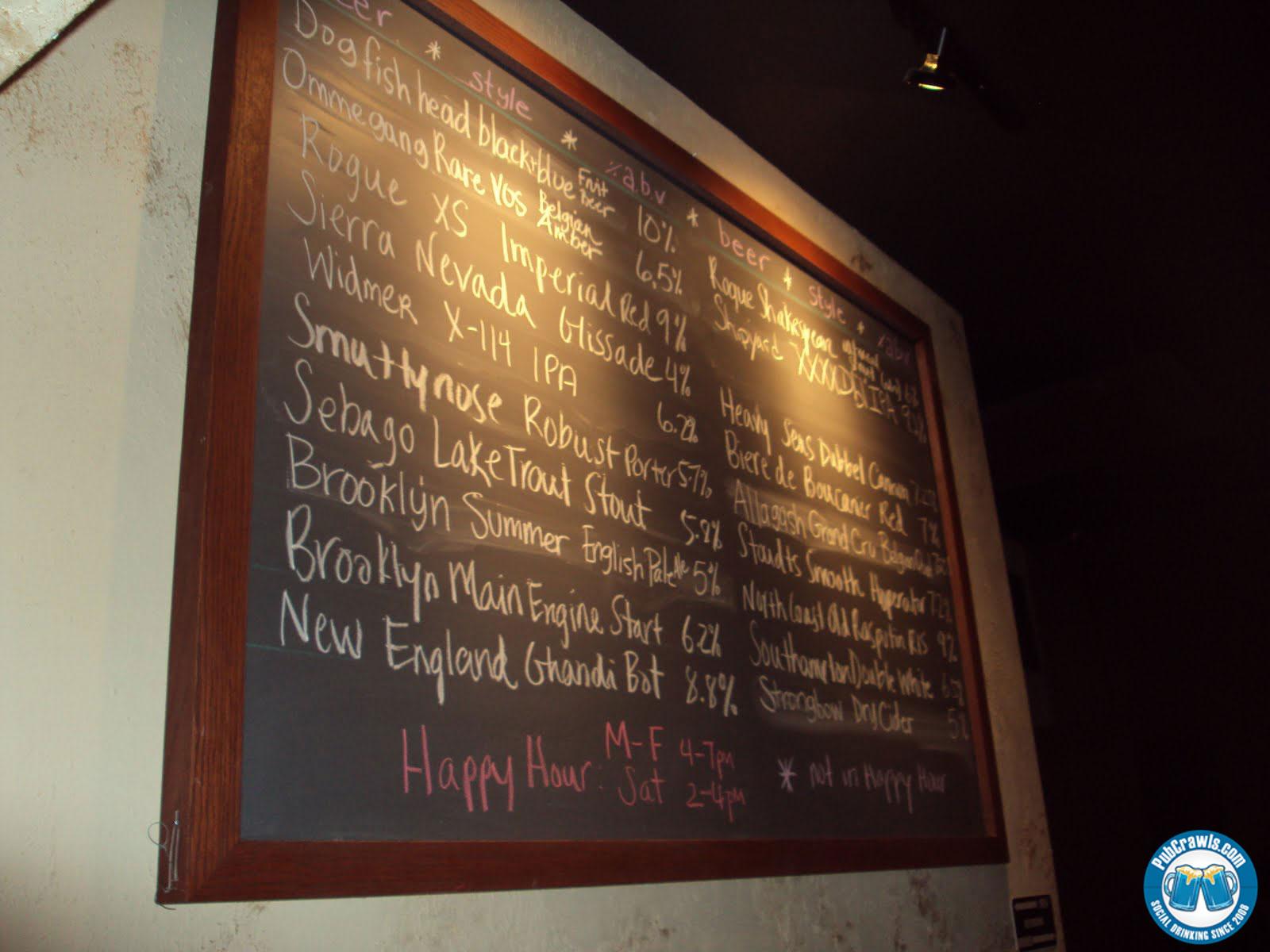 Prime 16 Beer List - Between Two Rocks
