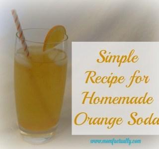 Quick and simple recipe for homemade orange cream soda