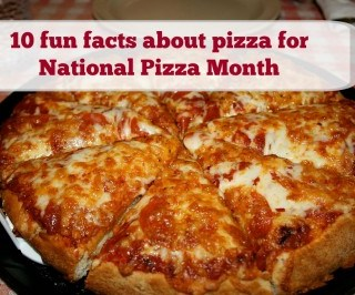 10 fun facts about pizza