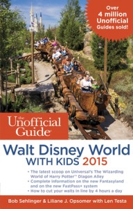 The Unofficial Guide to Walt Disney World with Kids #Giveaway