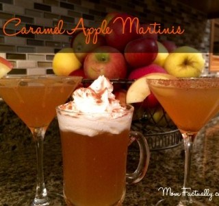 Caramel Apple Martini: An easy fall cocktail