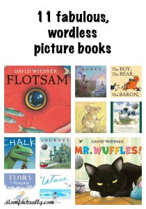 11 fabulous wordless picture books