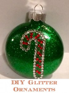 DIY glitter ornaments: Easy to make, beautiful enough to give