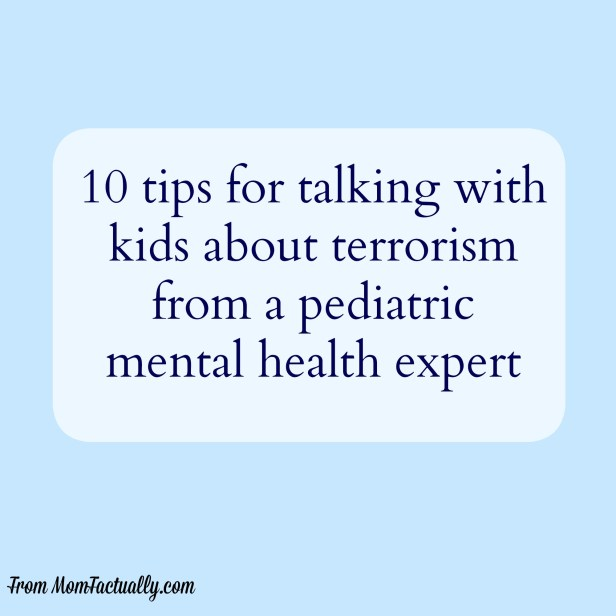 tips for talking about terrorism