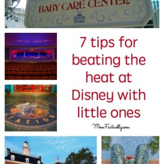 7 tips for surviving the heat at Disney with little ones