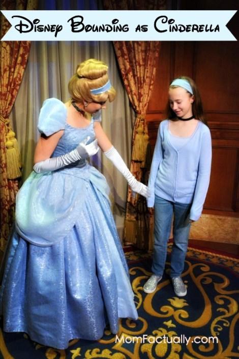 Disney Bounding as Cinderella