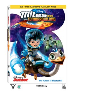 Miles from Tomorrowland DVD Giveaway