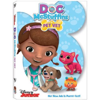 Doc McStuffins: Pet Vet DVD Giveaway