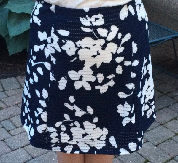 Lidia Printed Swing Skirt Fate Stitch Fix