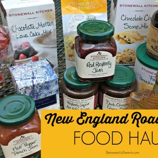 New England food haul from our road trip