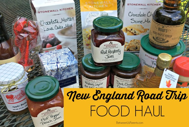 New England Food Haul