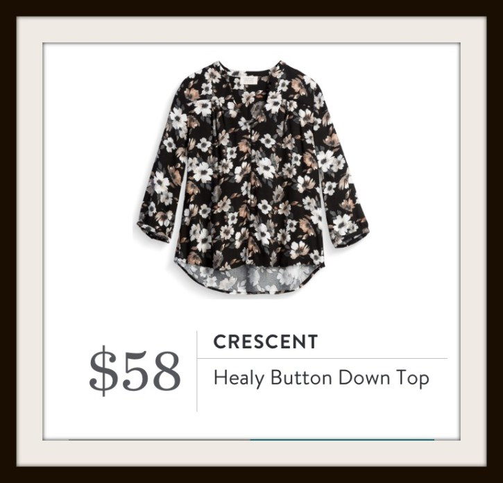 Crescent Healy Button Down Top Stitch Fix