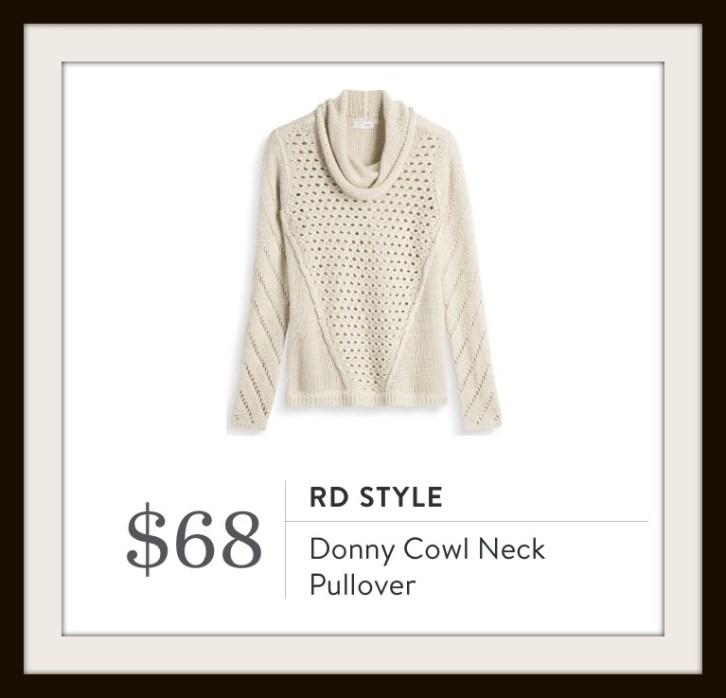 Donny Cowl Neck Pullover Stitch Fix