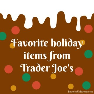 Favorite Holiday Items at Trader Joe's