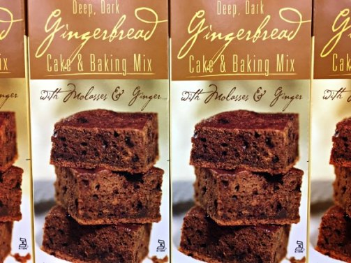 Trader Joe's Gingerbreak Cake and Baking Mix