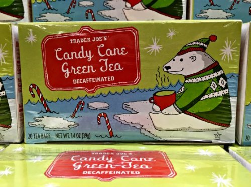 Favorite Holiday Items at Trader Joes Candy Cane Tea