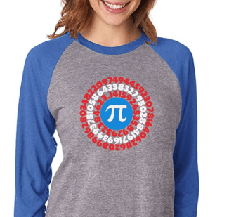 Pi superhero shirt, perfect for Pi Day