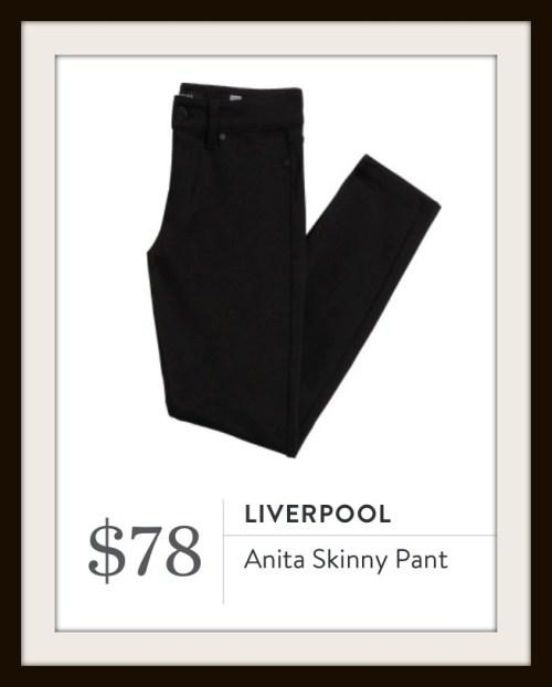 Stitch Fix Liverpool Anita Skinny Pant