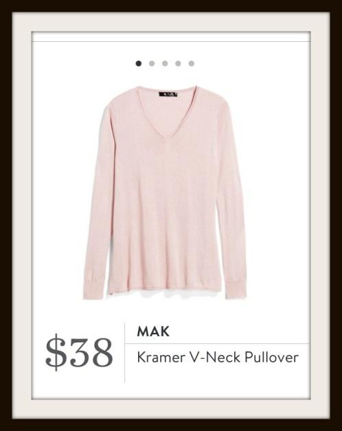 Stitch Fix Mak Kramer V-Neck Pullover