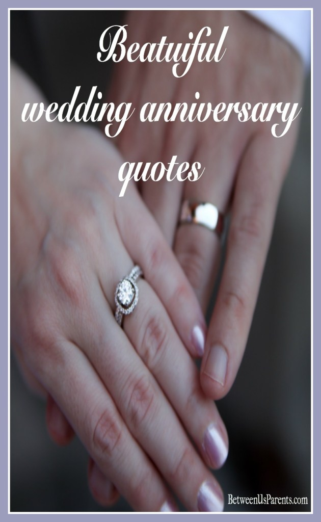 Quote to celebrate your wedding anniversary
