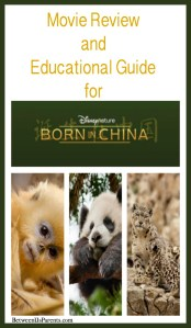 Movie Review and Educational Guide for Disneynature's Born in China