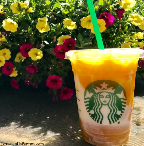 Mango Pineapple Frappucino, a new summer drink at Starbucks