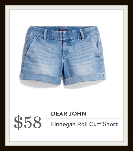 Stitch Fix Dear John Finnegan Roll Cuff Short
