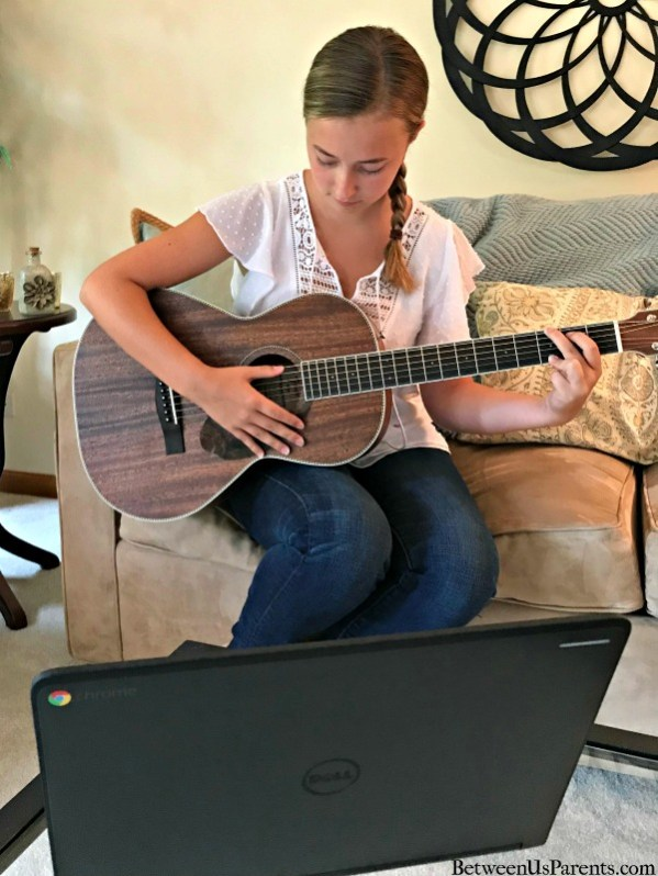 Fender makes it easy for even busy teens to learn guitar