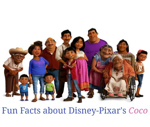 Fun Facts about Disney-Pixar's film Coco