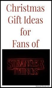 Christmas Gift Ideas for Fans of Stranger Things