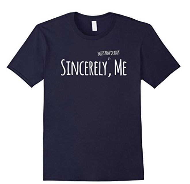 Sincerely me t-shirt for Dear Evan Hansen fans