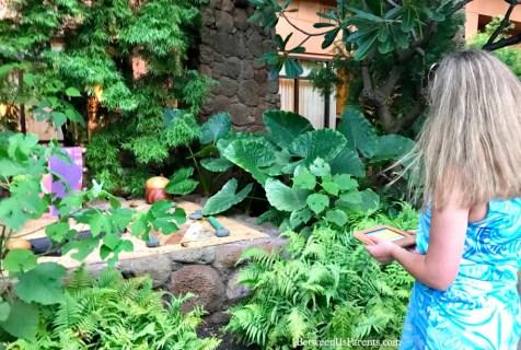 Menehune Scavenger Hunt at Disney's Aulani