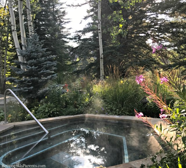 Jacuzzi at Sonnenalp in Vail