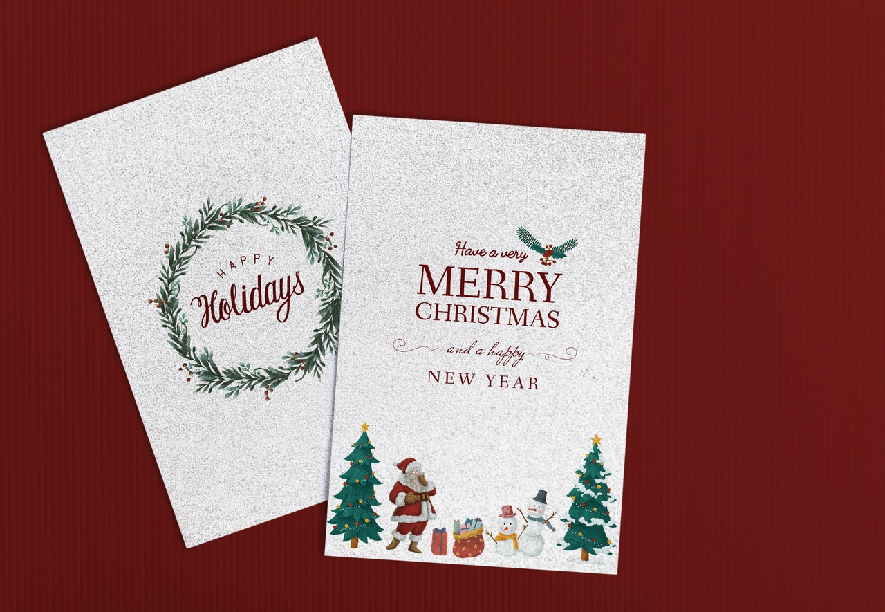 5 Things My Teen Can Learn From Me Sending Christmas Cards Between