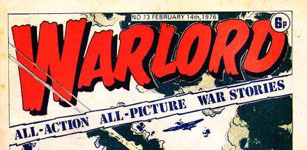 Warlord Comic, for boys, by DC Thompson