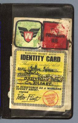 warlord secret agent wallet