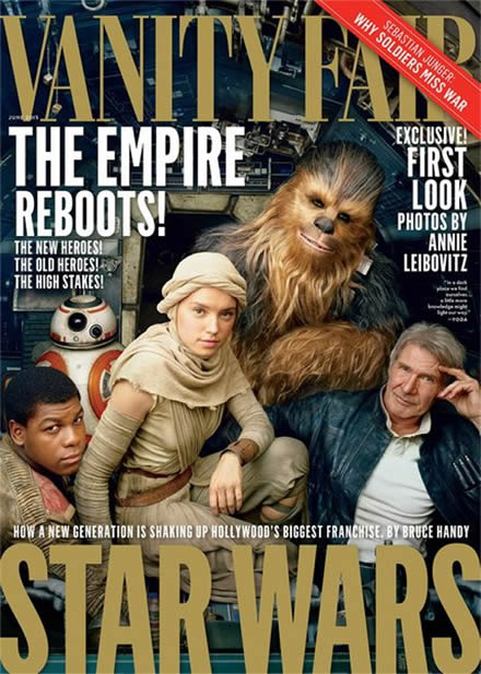 vanity fair star wars episode 7 cover