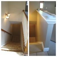 Stair Railing On Half Wall | Joy Studio Design Gallery ...