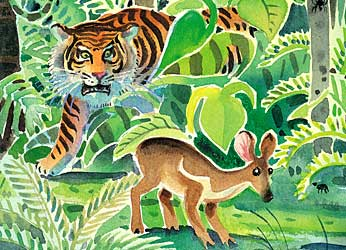 Narrative Text  Fable story   Mouse Deer And Tiger