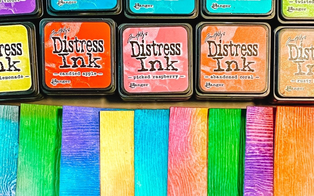 10 Distress Inks for 10 Perfect Color Blends Every Time