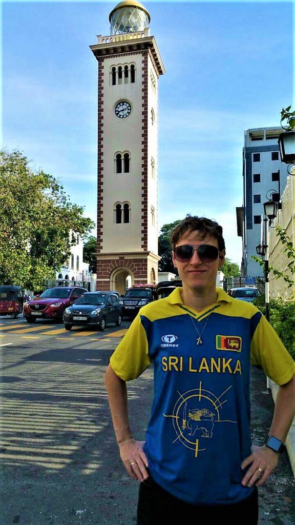 Colombo Clock Tower, Sri Lanka