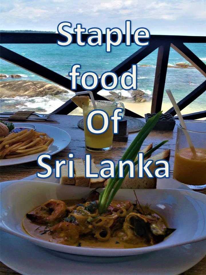 Staple foods of Sri Lanka
