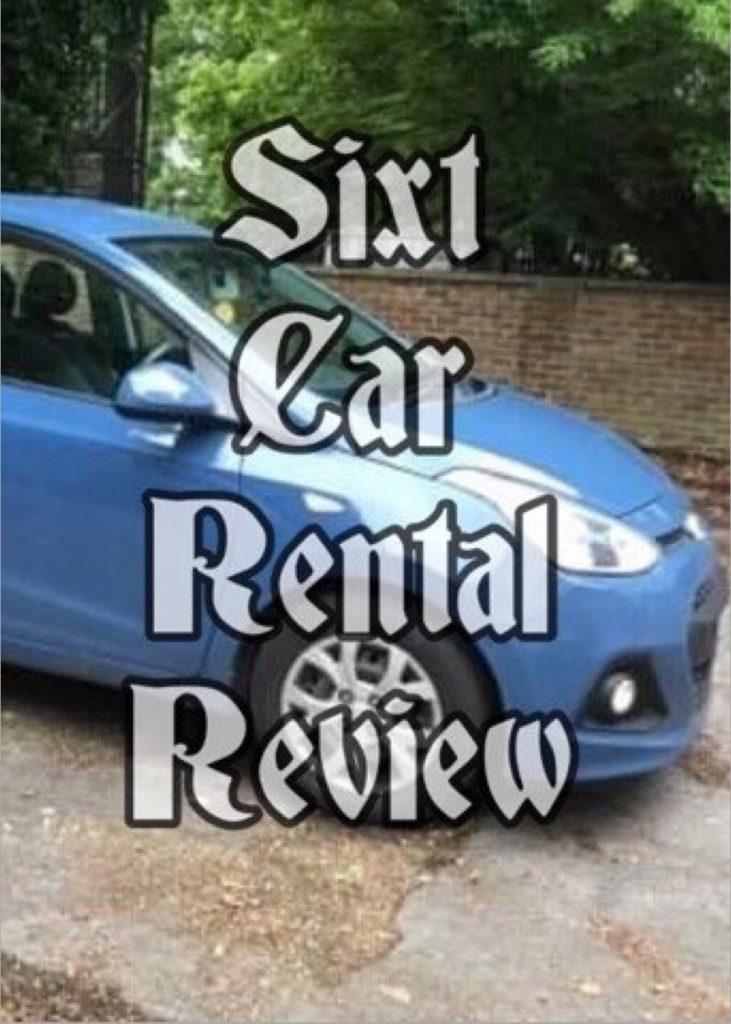 Sixt Car Rental Review