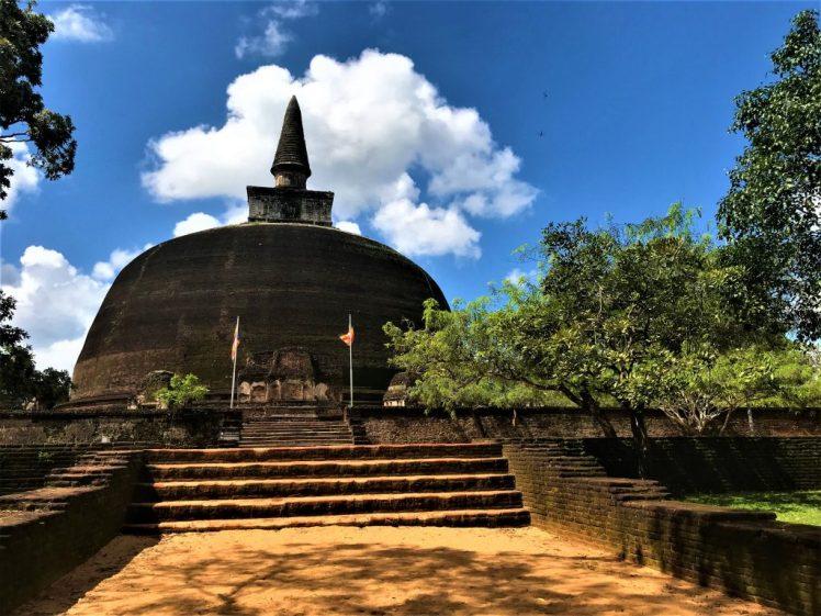 Polunnaruwa - ancient city in Sri Lanka
